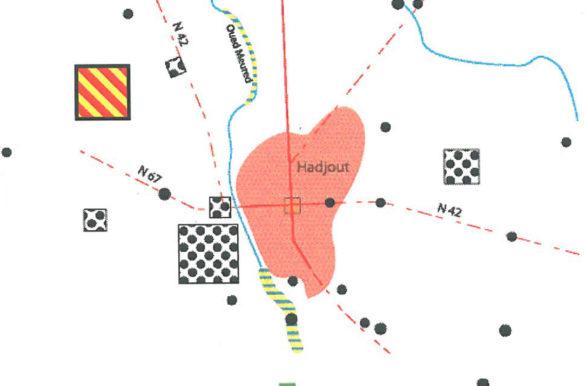carte mentale de la préaprtion communale des décharges et points noirs