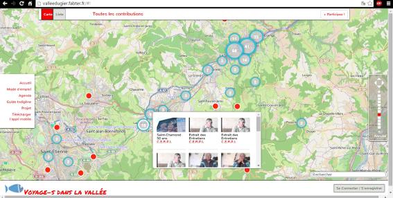illustration de plateforme collaborative - voyage dans la vallée